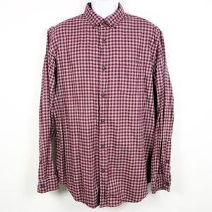 Banana Republic Luxe Flannel Slim Fit Shirt XL Men